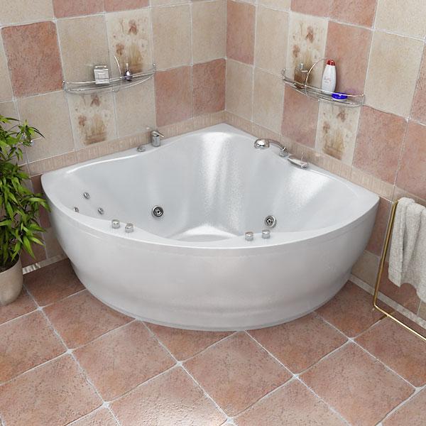 Лилия БелаяВанны<br>Глубина ванны: 450 мм. Дно с рифленой массажной поверхностью. Форма, зауженная в нижней части, обеспечивает удобство подхода к ванне, тем самым добавляя приятных эмоций. В комплект поставки входят: чаша ванны, слив-перелив, каркас.<br>