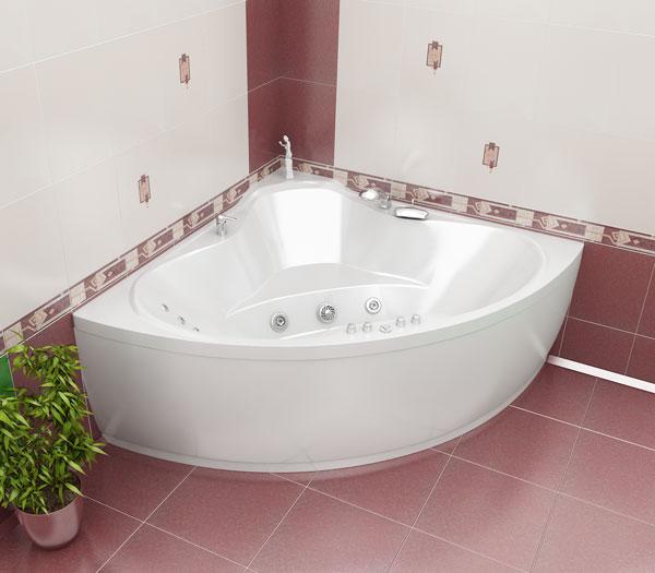 Акриловая ванна Triton Троя Белая