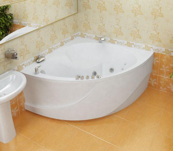 Эрика БелаяВанны<br>Глубина ванны: 460 мм. В комплект поставки входят: чаша ванны, слив-перелив, каркас.<br>