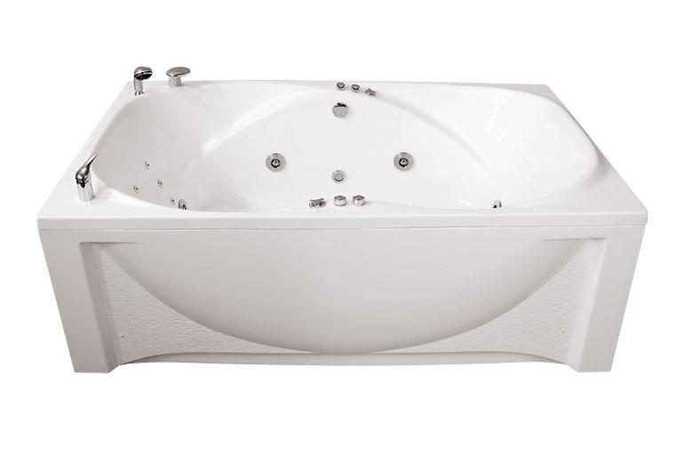 Атлант  БелаяВанны<br>Глубина ванны: 480 мм. В комплект поставки входят: чаша ванны, слив-перелив, каркас.<br>