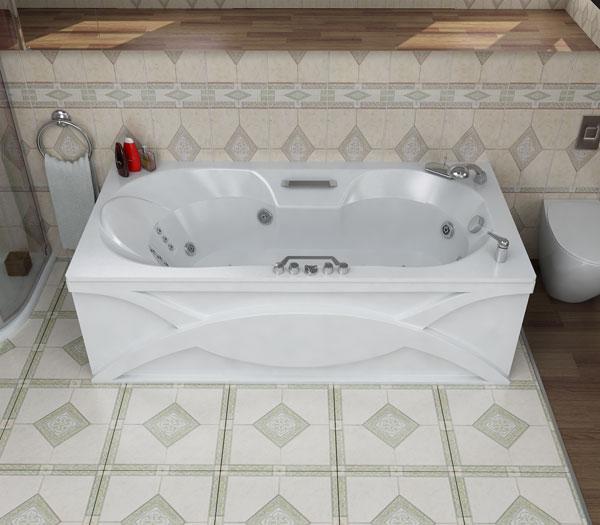 Лагуна БелаяВанны<br>Глубина ванны: 360 мм. В комплект поставки входят: чаша ванны, слив-перелив, каркас.<br>