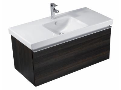 Odeon Up EB883-NR ВенгеМебель для ванной<br>Тумба Jacob Delafon Odeon Up EB883-NR под раковину в комплекте с одним плавно закрывающимся выдвижным ящиком, корзиной для белья (Ш 280xГ370xВ170 мм) EB197 и отсеком для хранения бутылок (Ш550xГ325xВ65 мм) EB122.<br>