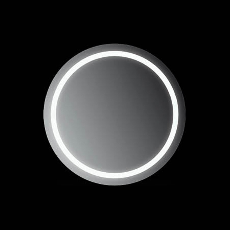 Зеркало Mobo Ring 60 с подсветкой Хром