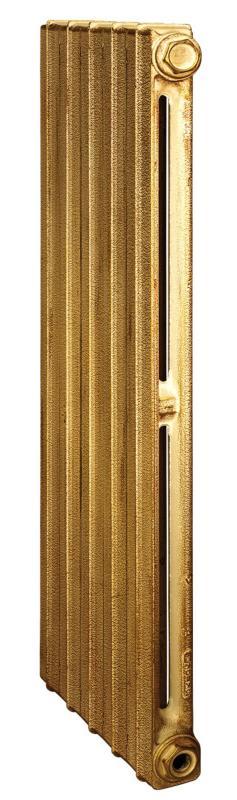 Toulon 900/070 x4Радиаторы отопления<br>Стоимость указана за 4 секции. Чугунный секционный радиатор RETROstyle Toulon 900/070 980x240x70 мм с боковым подключением. Межосевое расстояние - 900 мм. Радиаторы поставляются покрытые грунтовкой выбранного цвета. Дополнительно могут быть окрашены в один из цветов палитры RAL (глянец), NCS (матовый), комбинированный (основной цвет + акцент на узорах), покраска с патинацией (old gold; old silver, old cupper) и дизайнерское декорирование. Установочный комплект приобретается дополнительно.<br>