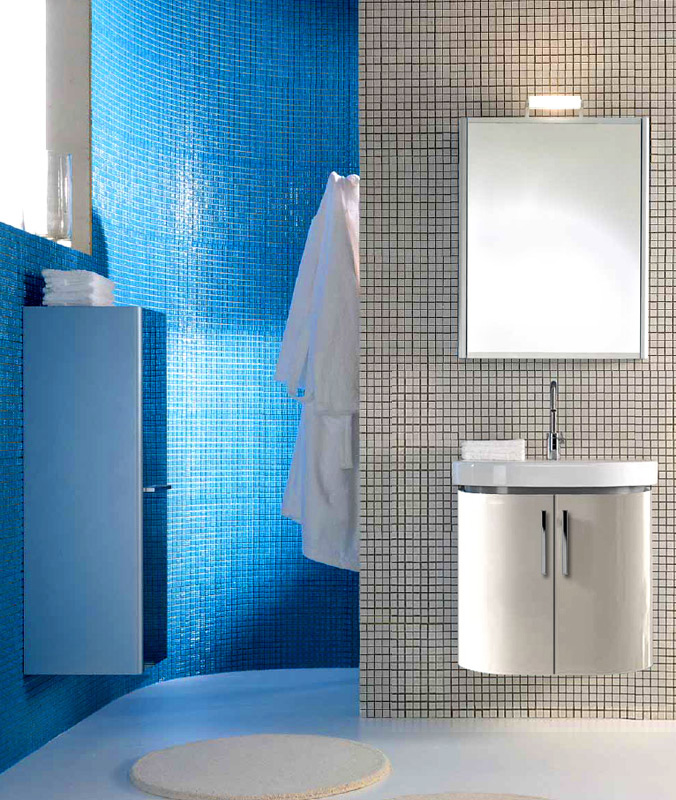 Day BS01 Белая 100Мебель для ванной<br>Berloni Bagno Day BS01 100 белого цвета. Так же может комплектоваться керамической раковиной. Распашные дверцы, механизм с доводчиком и плавным бесшумным закрытием. Тумба подстолье Berloni Bagno DAY BS01 может устанавливаться на стене в подвешенном положении, или дополняться металлическими ногами XAPD8 (заказываются отдельно)<br>