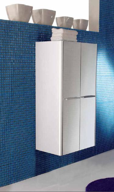 Day DY CB10 Выбеленный дуб 401Мебель для ванной<br>Шкаф для ванной комнаты DAY CB10 401 выбеленный дуб, две распашные створки. Устанавливается на стене в подвешенном положении или дополняется металлическими хромированными ногами XAPD8.<br>
