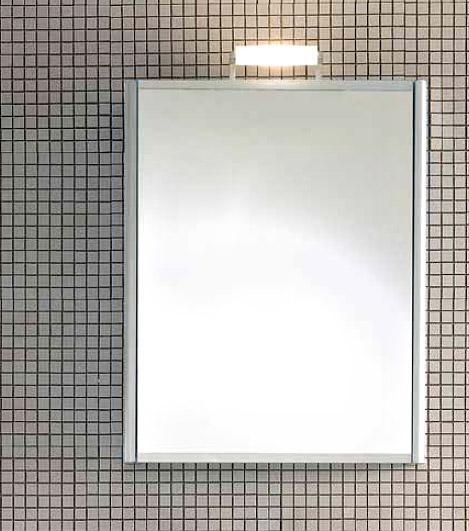 Day SN06 DX Белая 100Мебель для ванной<br>Шкаф навесной с зеркальной створкой DAY SN06 DX 100 белого цвета, створка открывается в правую сторону. Можно дополнить светильником XP14.<br>