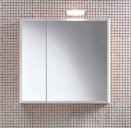 Day SN07 DX 100 Выбеленный дубМебель для ванной<br>Подвесной шкаф выбеленный дуб с зеркальными створками Berloni Bagno DAY SN07 DX 401 большая створка справа стороны. Можно дополнить светильником XP14.<br>