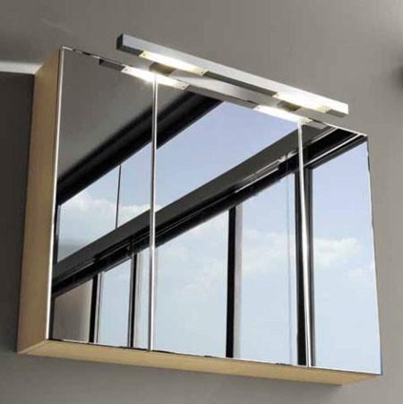 Squared SN30 DX 100 ВенгеМебель для ванной<br>Шкафчик зеркальный Berloni Bagno Squared SN30 DX 405 цвета венге. Шкафчик имеет 3 дверцы, большая дверца справа. Отделка натуральный шпон.<br>