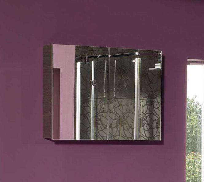 Amador F 80.15    Серебряный дубМебель для ванной<br>Gorenje Amador F 80.15 зеркальный шкаф. Шкаф без светильника, цвет корпуса серебряный дуб.<br>