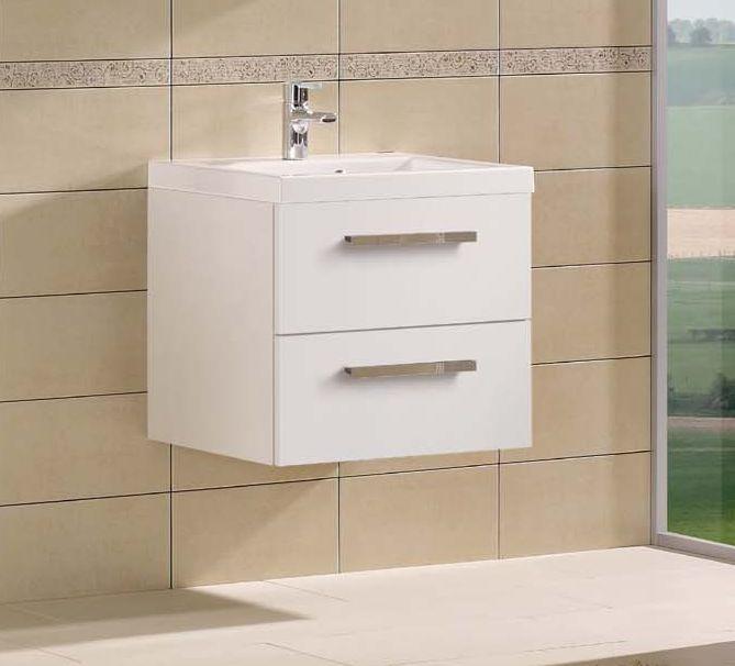Amador F 60.82    АнтрацитМебель для ванной<br>Gorenje Amador F 60.82 тумба под раковину. Стоимость указана за тумбу без раковины. Тумба подвесная с двумя выдвижными ящиками, цвет: антрацит. Раковина, зеркало и дополнительные шкафы приобретаются отдельно.<br>