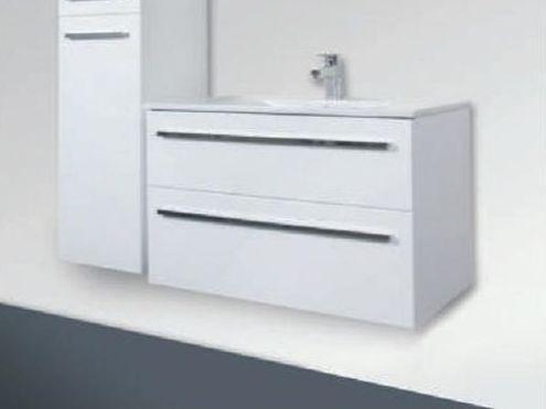 Amador F 100.82    АнтрацитМебель для ванной<br>Gorenje Amador F 100.82 тумба под раковину. Стоимость указана за тумбу без раковины. Тумба подвесная с двумя выдвижными ящиками, цвет: антрацит. Раковина, зеркало и дополнительные шкафы приобретаются отдельно.<br>