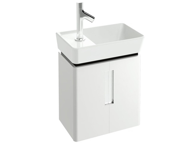 Reve EB1138-E12 ДымчатыйМебель для ванной<br>Тумба Jacob Delafon Reve EB1138-E12 под раковину с двумя дверцами.<br>