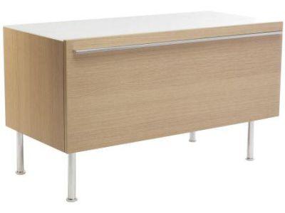 Ove EB112-F5 Чёрное-деревоМебель для ванной<br>Тумба Jacob Delafon Ove EB112-NR под столешницу. Верх мебели - молочное стекло, современный дизайн.<br>