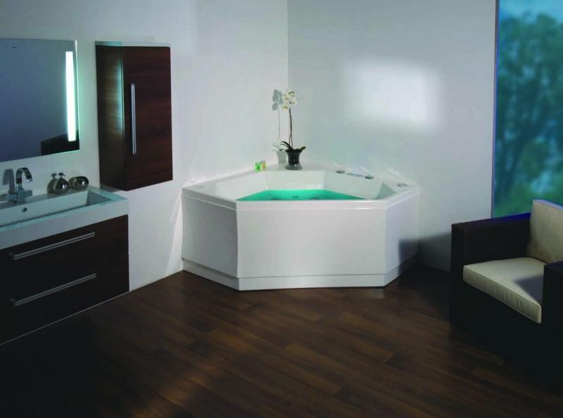 Акриловая ванна Victory Spa Experience 140x140 Система 2: Гидромассаж