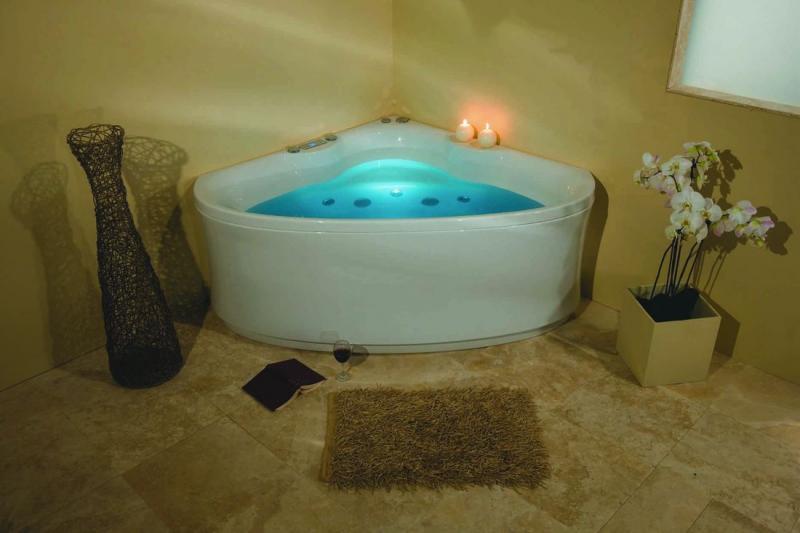 Акриловая ванна Victory Spa Elegance 145x145 Система 1: Аэромассаж