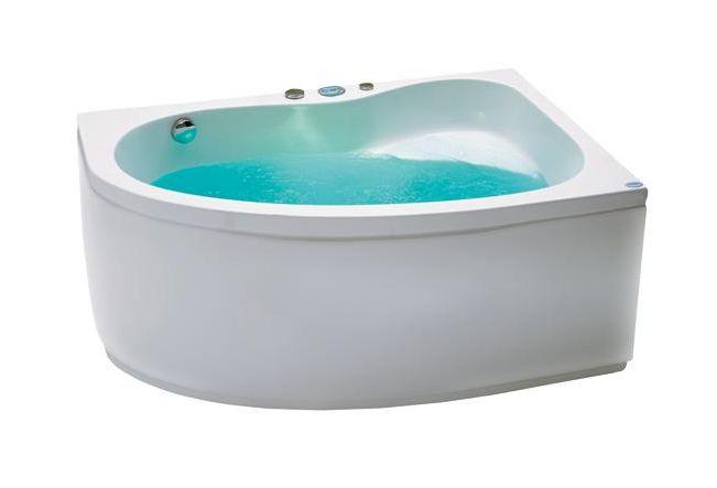 Saba 140 Система 1: АэромассажВанны<br>Victory Spa Saba 140 акриловая ванна белого цвета. Стандартная комплектация: электронная система управления; сегментный дисплей (время и температура воды); подводная светодиодная подсветка; таймер с установкой желаемого времени принятия процедур. Аэромассаж: компрессор с встроенным нагревателем; плавная регулировка интенсивности потока воздуха; дренаж аэромассажной системы после принятия ванны; автоматическая продувка и просушка аэромассажной системы после принятия ванны. Дополнительно можно приобрести панели, алюминиевую раму, подголовник, смеситель.<br>