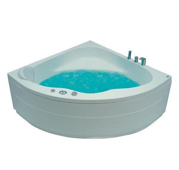 Hawaii 135x135 Система 2: ГидромассажВанны<br>Victory Spa Hawaii 135 акриловая ванна белого цвета. Стандартная комплектация: электронная система управления; сегментный дисплей (температура воды и время); подводная светодиодная подсветка; таймер с установкой желаемого времени принятия процедур; датчик уровня воды. Гидромассаж: ротативные форсунки для спины; ротативные форсунки для массажа ступней ног; боковые форсунки с возможностью направления струи; независимая регулировка подачи воздуха в гидромассажные форсунки; датчик защиты от запуска без воды; дренаж гидромассажной системы после принятия ванны. Дополнительно можно приобрести фронтальную панель, панель для облицовки плиткой, алюминиевую раму, проточный водонагреватель, подголовник, смеситель.<br>