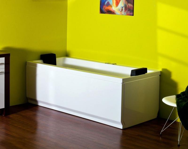 Tango Без системы управленияВанны<br>Victory Spa Tango акриловая прямоугольная ванна белого цвета. Ванна без системы управления. Дополнительно можно приобрести панели, алюминиевую раму, подголовники, подводную подсветку, отделку форсунок хром.<br>