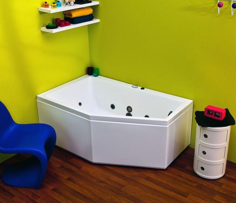 Jive Без системы управленияВанны<br>Victory Spa Jive акриловая ассиметричная ванна белого цвета. Ванна без системы управления. Дополнительно можно приобрести панели, алюминиевую раму, подголовник, подводную подсветку, отделку форсунок хром.<br>
