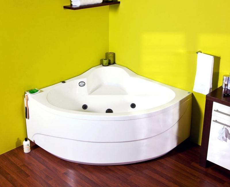 Акриловая ванна Victory Spa Flamenco 150 Система 3: Гидро-аэромассаж