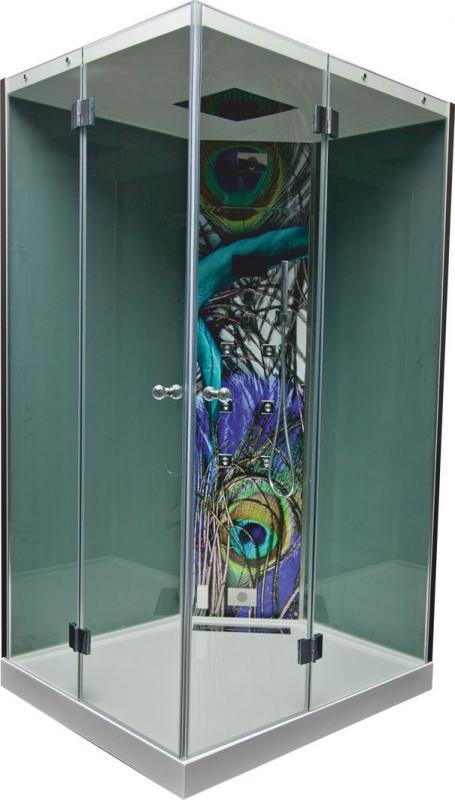 Karl 120x100 Система 2Душевые кабины<br>Victory Spa Karl 120x100 душевая кабина. Система 2 включает в себя: электронную система управления; функции пульта управления: хромотерапия, ручная лейка, шотландский душ, вертикальный гидромассаж; смеситель термостат с регулировкой интенсивности потока; верхний душ; радио FM со стандартными динамиками или с динамиками SFH Gel Audio. Дополнительно можно приобрести радио FM со стандартными динамиками, стальное сидение с отделкой Тик или полистерол, хрустальные ручки.<br>