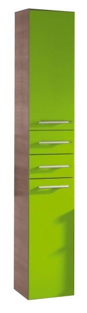 Avon E 30.02   Бордо глянец/Белый глянецМебель для ванной<br>Gorenje Avon E 30.02 шкаф-колонна. Шкаф с двумя распашными дверцами и выдвижными ящиками, цвет фасада бордо глянец, корпуса белый глянец.<br>
