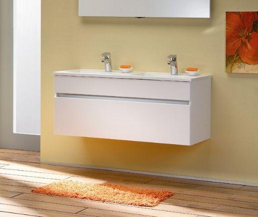 Fresh karisma F 120.22 Белая/БелаяМебель для ванной<br>Gorenje Fresh karisma F 120.22 тумба под раковину. Стоимость указана за тумбу без раковины. Тумба подвесная с  выдвижным ящиком и фальшь панелью, цвет корпуса и фасада белый. Раковина, зеркало и дополнительные шкафы приобретаются отдельно.<br>