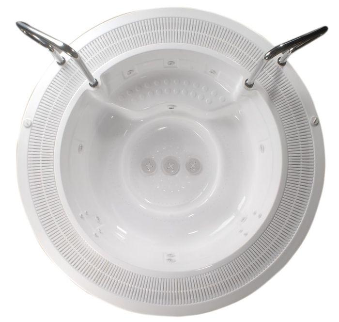 Sumatra Spa Версия для домаБассейны<br>Victory Spa Sumatra Spa бассейн. Версия для дома включает в себя: электронная система контроля; гидромассаж: 2 двигателя по 0,75 кВт; регулятор потока воздуха для гидромассажной системы; аэромассаж: 2 компрессора по 0,70 кВт; пульсирующий аэромассаж; изменение интенсивности аэромассажа; подводная подсветка, LED лампа (2шт); фильтрационная система: двигатель с пре-фильтром, 0,74кВт, песочный фильтр с 6-тью позиционным переключателем F625; переливной желоб с решёткой; переливной бак (1150л); система подогрева воды - электрический нагреватель воды 9кВт, теплообменник опция 43кВт (37.500Kcal) или 79кВт (68.000Kcal); установка температуры воды; установка времени гидромассажа; автоматическое поддерживание уровня воды; ручная дозировка химических реагентов; программирование еженедельной фильтрации (5 программ); установка отдельных программ фильтрации индивидуально на каждый день недели; кожух для бассейна предотвращает остывание воды в бассейне; поручни из нержавеющей стали; все приборы располагаются на стандартном поддоне 100х150см; потребление электроэнергии: 12,45 кВт - с проточным нагревателем воды, 3,45 кВт – с теплообменником. Дополнительно можно приобрести ультрафиолетовую лампу, кожух, хромотерапию.<br>