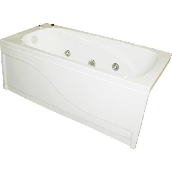 Оптима 150x70 без гидромассажаВанны<br>Акриловая ванна Bellrado Оптима 150x70x56 см прямоугольная, армированная.<br>Ванна изготовлена из литьевого акрила, литой лист толщиной 4,2 мм, и усилена стекловолокном с полиэфирными смолами. Толщина стенок – 6-7 мм. Усиливающие дно и места крепления корпуса элементы, толщина – 22-24 мм. Лицевой слой – акрил ПММА, устойчив к царапинам, УФ лучам, коррозийному и химическому воздействию, долго сохраняет блеск.<br>Цвет чаши ванны: чистый холодный белый. <br>Ванна Оптима - это оптимальная модель акриловой ванны. Она имеет стандартный размер и подойдет даже для небольшой ванной комнаты.<br>В комплекте поставки:<br>акриловая чаша ванны<br>стальной каркас – надежная конструкция, профиль 25х25, толщина 1,5 см, порошковое напыление, не поддается коррозии<br>слив-перелив Vega полуавтомат<br>Уход: с использованием безабразивных мягких средств. <br>Данная ванна реставрируема (из ремонтнопригодного материала).<br>