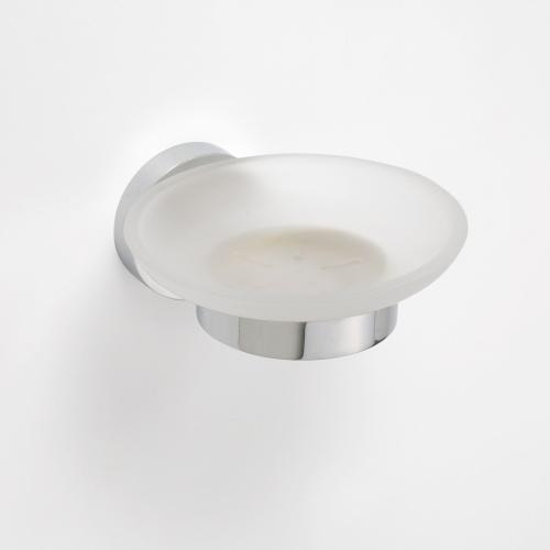 Omega 104108042 ГлянецАксессуары для ванной<br>Мыльница для ванной Bemeta Omega 104108042 стеклянная. Цвет глянец.<br>