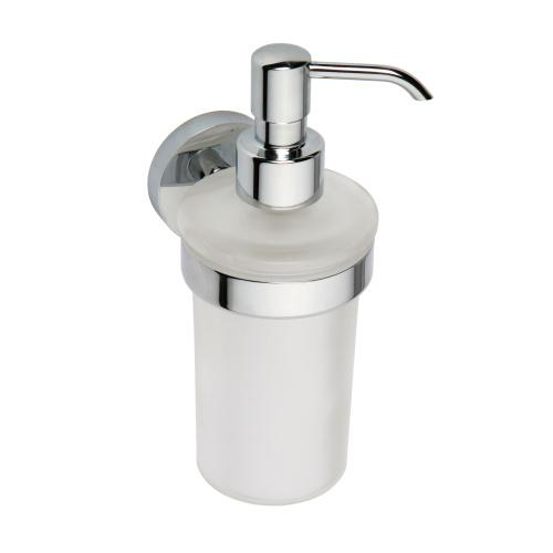 Omega 104109017 ХромАксессуары для ванной<br>Дозатор для жидкого мыла Bemeta Omega 104109017. Цвет хром.<br>