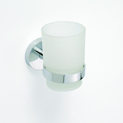 Omega 104110012 ГлянецАксессуары для ванной<br>Держатель для стакана Bemeta Omega 104110012. Цвет глянец<br>