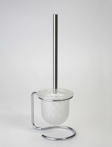 Omega 104113102 ГлянецАксессуары для ванной<br>Ершик для унитаза Bemeta Omega 104113102 напольный со стаканом. Цвет глянец.<br>