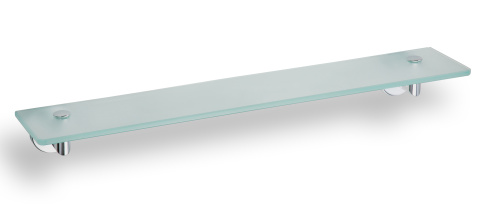 Omega 104202042 ГлянецАксессуары для ванной<br>Полка для ванной Bemeta Omega 104202042 стеклянная 600 мм. Цвет глянец.<br>