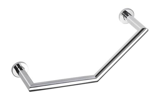 Omega 104307621 ГлянецАксессуары для ванной<br>Поручень для ванной Bemeta Omega  104307621 изогнутый. Цвет глянец.<br>