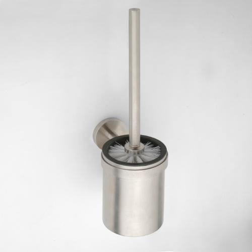Neo stainless 102313075 Нержавеющая стальАксессуары для ванной<br>Ершик для унитаза Bemeta Neo stainless 102313075 с подвесным стаканом. Нержавеющая сталь<br>