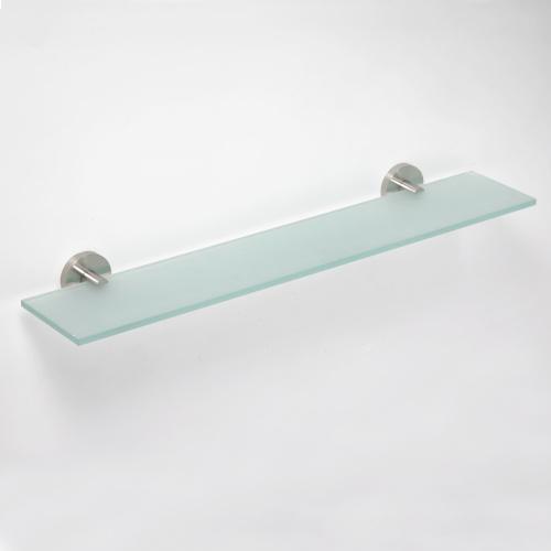 Neo stainless 104102045 ГлянецАксессуары для ванной<br>Полочка для ванной Bemeta Neo stainless 104102045 стеклянная. Цвет глянец.<br>