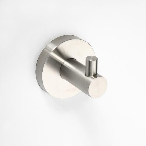 Neo stainless 104106025 Хром матовыйАксессуары для ванной<br>Крючок для полотенец Bemeta Neo stainless 104106025. Цвет Хром матовый.<br>