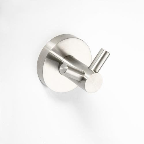 Neo stainless 104106035 ХромАксессуары для ванной<br>Крючок для полотенец Bemeta Neo stainless 104106035 двойной. Цвет хром.<br>