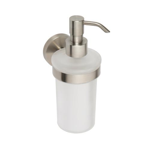 Neo stainless 104109016 ХромАксессуары для ванной<br>Дозатор для жидкого мыла Bemeta Neo stainless 104109016 стеклянный. Цвет хром.<br>