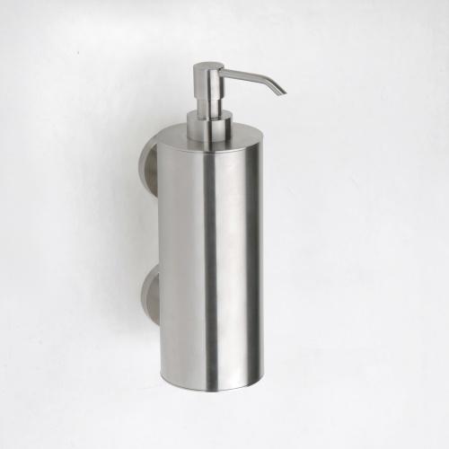 Neo stainless 104109035 ХромАксессуары для ванной<br>Дозатор для жидкого мыла Bemeta Neo stainless 104109035 настенный. Цвет хром.<br>