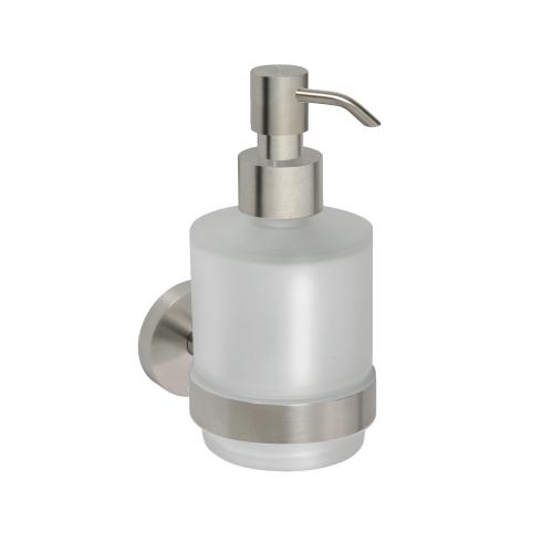 Neo stainless 104109115 ХромАксессуары для ванной<br>Дозатор для жидкого мыла Bemeta Neo stainless 104109115 в стеклянном стакане. Цвет хром<br>