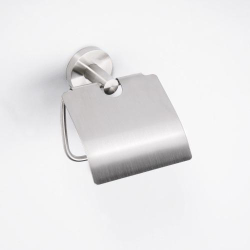 Neo stainless 104112015 ХромАксессуары для ванной<br>Держатель для туалетной бумаги Bemeta Neo stainless 104112015 с крышкой. Цвет хром.<br>