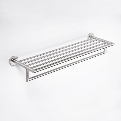 Neo stainless 104205075 ХромАксессуары для ванной<br>Полочка для полотенец Bemeta Neo stainless 104205075. Цвет хром.<br>