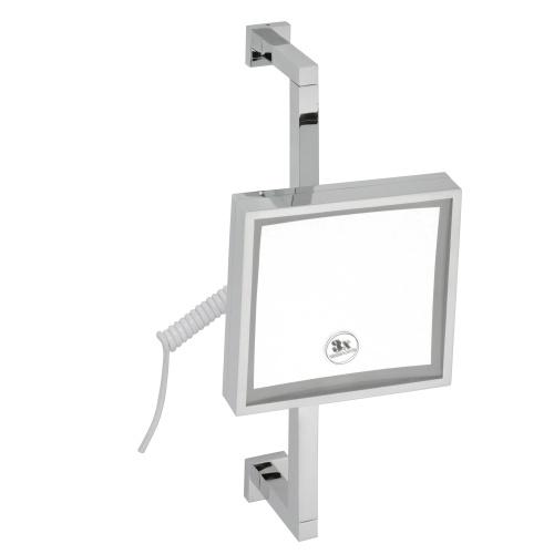 Cosmetic mirrors 112101182 ХромАксессуары для ванной<br>Косметическое зеркало Bemeta Cosmetic mirrors 112101182 с подсветкой. Цвет хром.<br>
