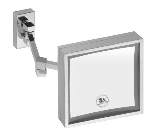 Cosmetic mirrors 112101202 ХромАксессуары для ванной<br>Косметическое зеркало Bemeta Cosmetic mirrors 112101202 с подсветкой. Цвет хром.<br>