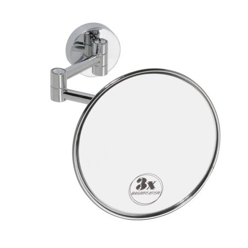 Cosmetic mirrors 112101521 ХромАксессуары для ванной<br>Косметическое зеркало для ванной Bemeta Cosmetic mirrors 112101521 подвесное со светом, сделано для серии Omega. Цвет хром.<br>