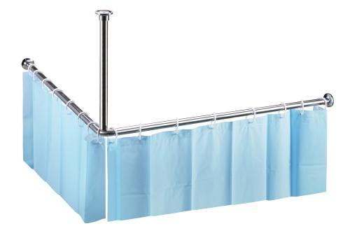 Штанга для шторы Bemeta Shower Programme 101120052 Глянец