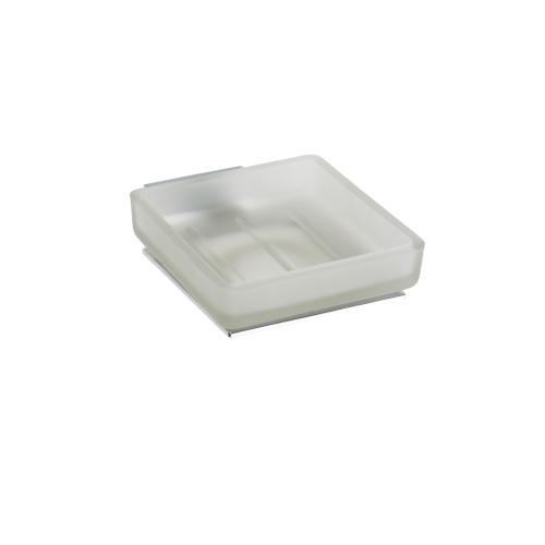 Plaza 118108022 Матовое стеклоАксессуары для ванной<br>Мыльница для ванной Bemeta Plaza 118108022. Цвет матовый.<br>